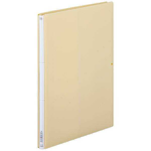 背幅伸縮ファイル PP製 A4タテ 10冊 ベージュ アスクル