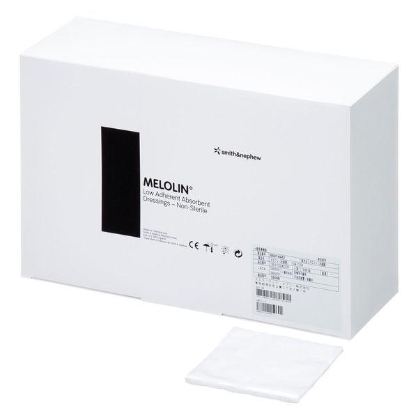 スミス・アンド・ネフュー メロリン未滅菌 10×10cm 66974942 1箱(150枚入) (取寄品)