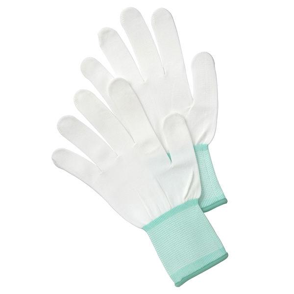 【現場のチカラ】 川西工業 作業用手袋(ノンコート手袋) ホワイト M AK2953M 1袋(10双入)