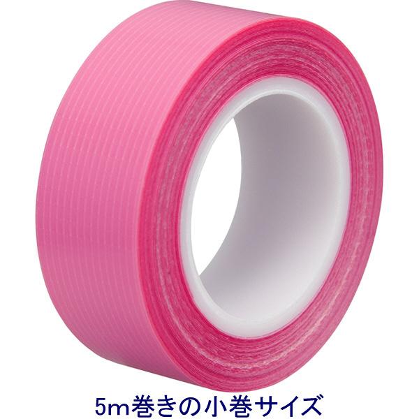テープル小巻 幅15mm×5m 桃色