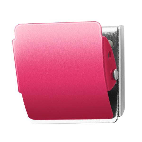 プラス マグネットクリップ ホールド. ピンク M 80412 1箱(10個入)
