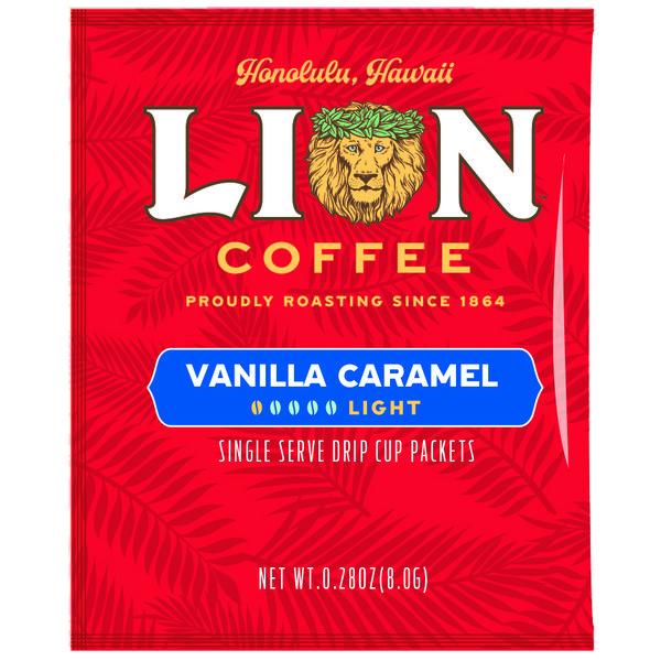 ライオンドリップコーヒーバニラキャラメル
