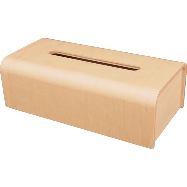 木製テッシュボックスケース ナチュラル
