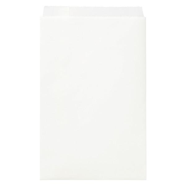 紙平袋 白 大 1000枚