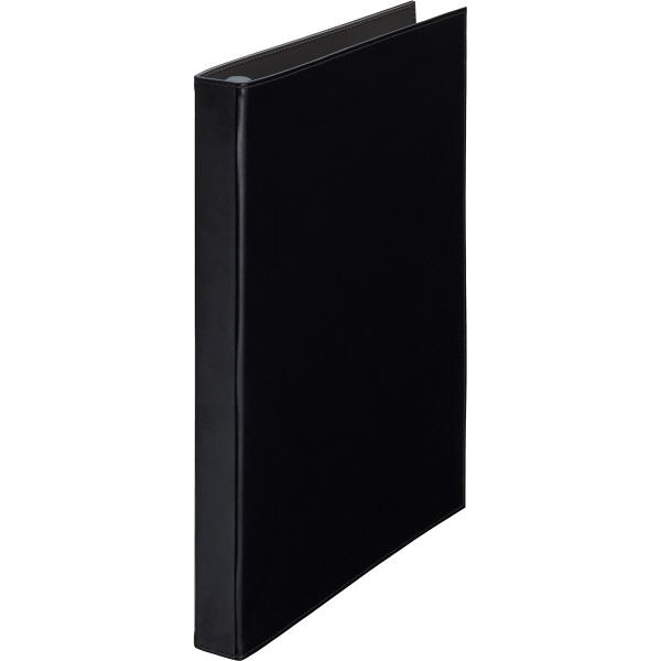 キングジム レザフェス 名刺ホルダー(差し替え式) A4タテ 黒 1913LFクロ 1セット(3冊)