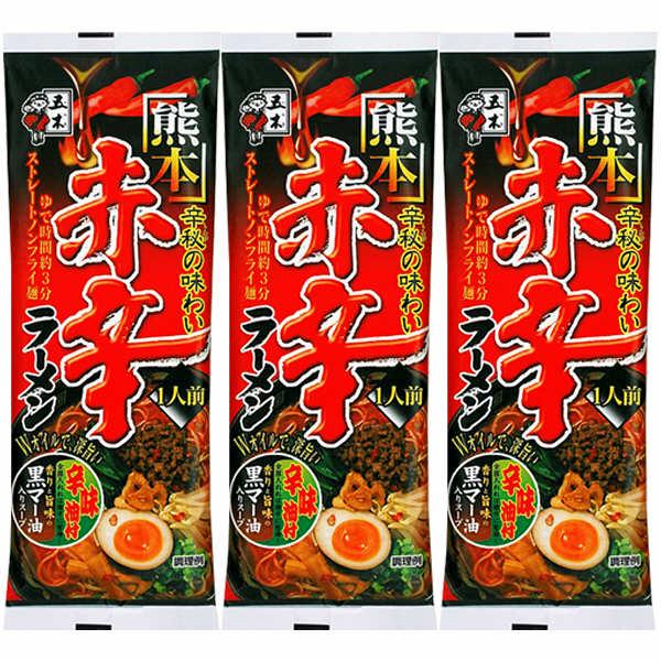 熊本赤辛ラーメン 114g 3食入