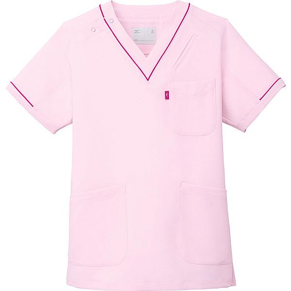 ミズノ スクラブ ピンク L