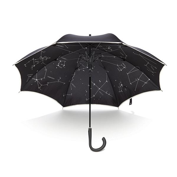 一枚張り傘 星座柄60cm(男女兼用)