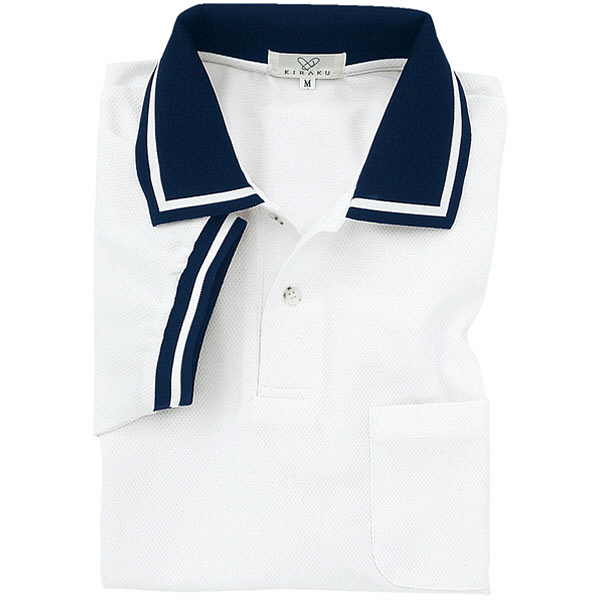 トンボ キラク ポロシャツ男女兼用 3L CR078-01-3L (取寄品)