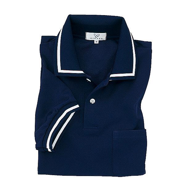 トンボ キラク ポロシャツ男女兼用 M CR078-88-M (取寄品)