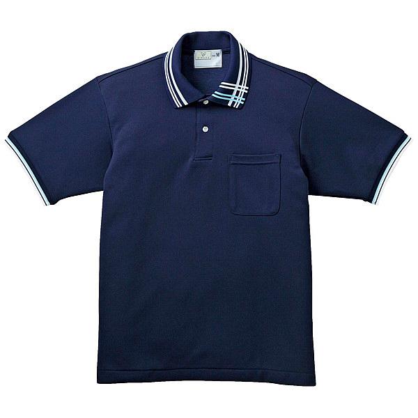 トンボ キラク ポロシャツ男女兼用 L CR106-88-L (取寄品)