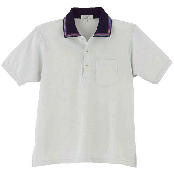 トンボ キラク ポロシャツ男女兼用 M CR111-03-M (取寄品)