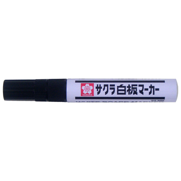 サクラクレパス 白板マーカー中字エコフィール 黒 業務用パック 1箱(10本入)
