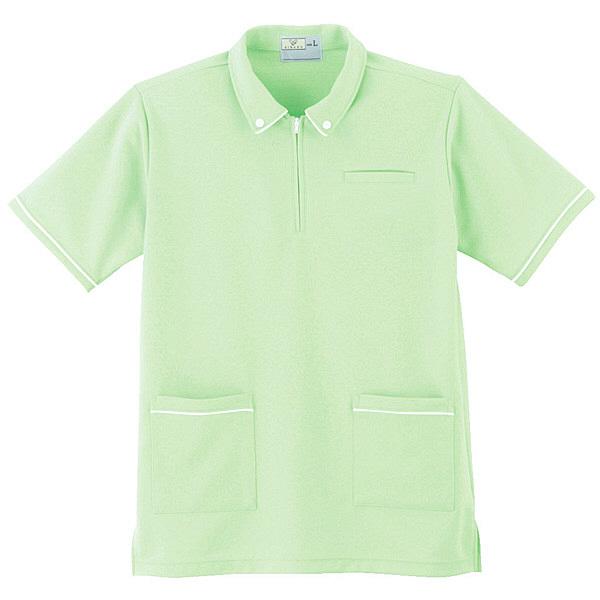 トンボ キラク ケアワークシャツ男女兼用 M CR117-37-M (取寄品)