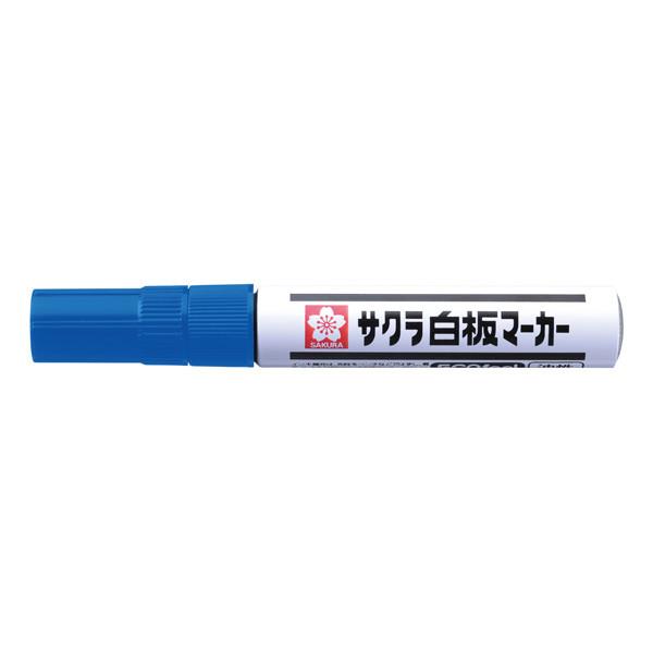 サクラクレパス 白板マーカー中字エコフィール 青 業務用パック 1箱(10本入)