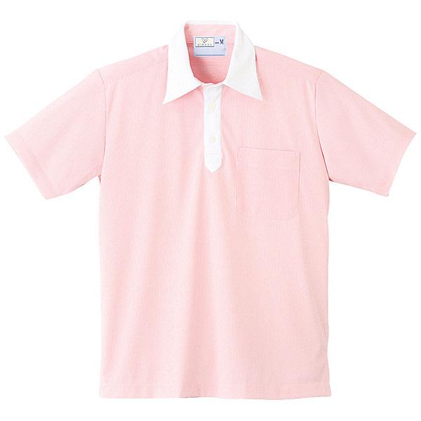 トンボ キラク ニットシャツ男女兼用 M CR121-11-M (取寄品)