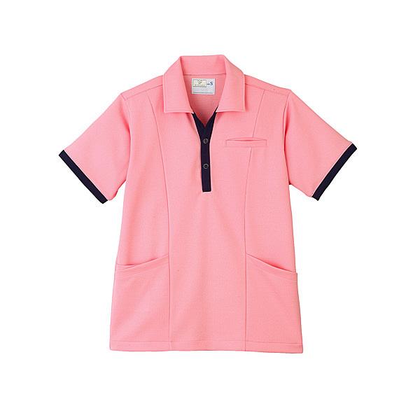 トンボ キラク ケアワークシャツ男女兼用 M CR129-13-M (取寄品)