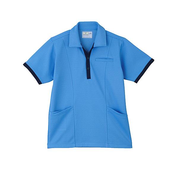 トンボ キラク ケアワークシャツ男女兼用 LL CR129-75-LL (取寄品)