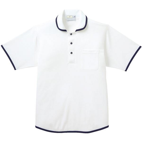 トンボ キラク ニットシャツ男女兼用 S CR138-01-S (取寄品)