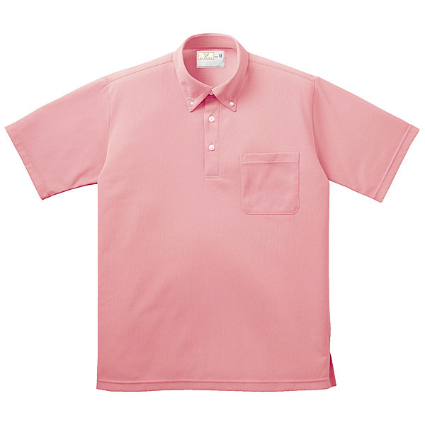 トンボ キラク ボタンダウンシャツ男女兼用 M CR139-13-M (取寄品)