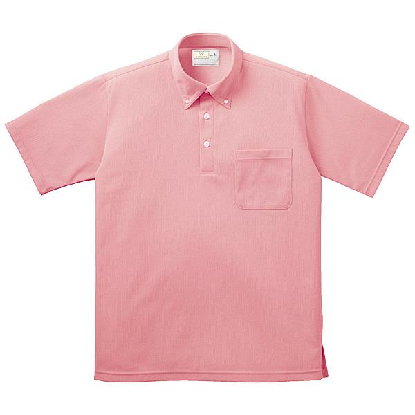トンボ キラク ボタンダウンシャツ男女兼用 SS CR139-13-SS (取寄品)