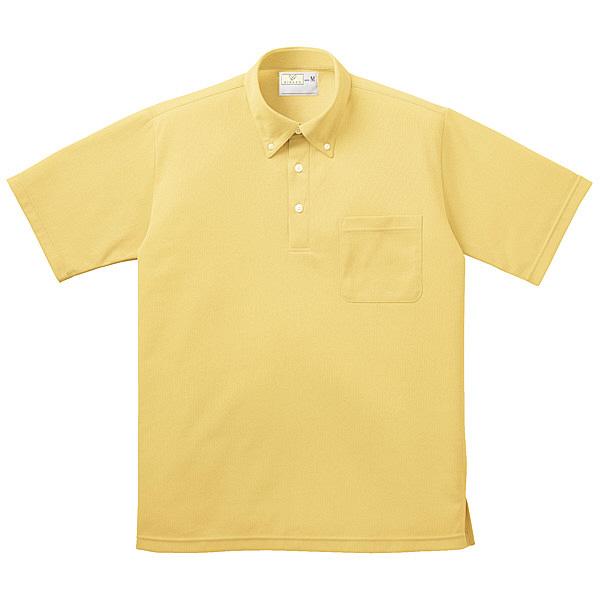 トンボ キラク ボタンダウンシャツ男女兼用 M CR139-33-M (取寄品)