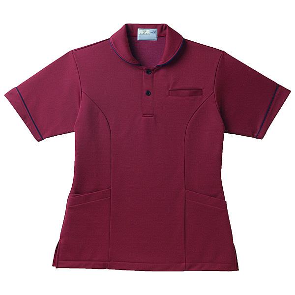 トンボ キラク レディスケアワークシャツ BL CR142-18-BL (取寄品)