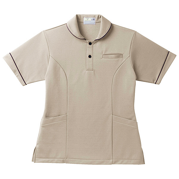 トンボ キラク レディスケアワークシャツ L CR142-28-L (取寄品)