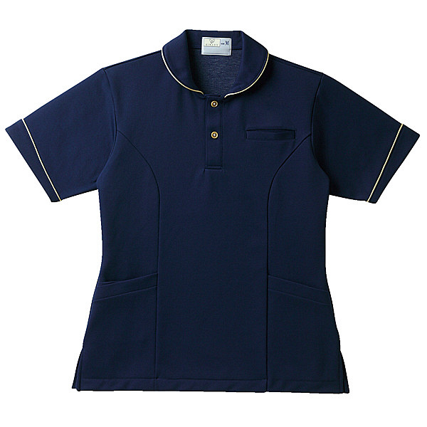 トンボ キラク レディスケアワークシャツ BL CR142-88-BL (取寄品)