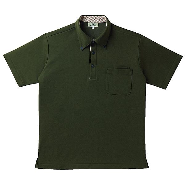 トンボ キラク ニットシャツ男女兼用 M CR143-48-M (取寄品)