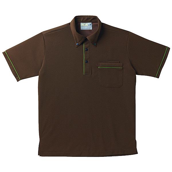 トンボ キラク 半袖ニットシャツ男女兼用 LL CR144-30-LL (取寄品)