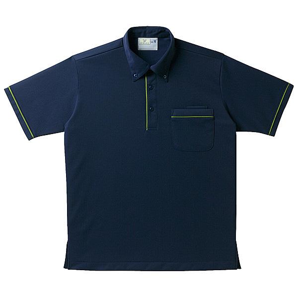 トンボ キラク 半袖ニットシャツ男女兼用 S CR144-88-S (取寄品)