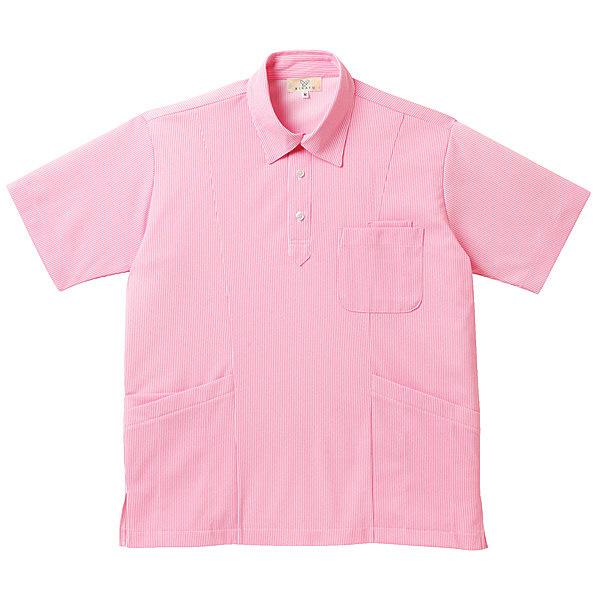 トンボ キラク ニットシャツ男女兼用 SS CR147-14-SS (取寄品)