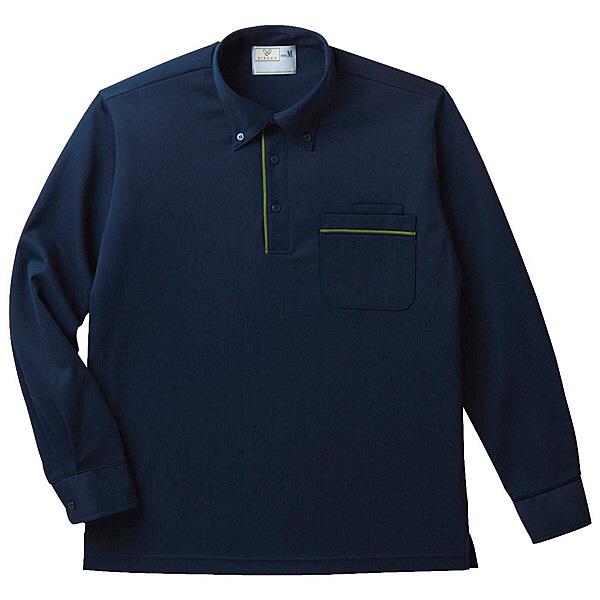 トンボ キラク 長袖ニットシャツ男女兼用 3L CR154-88-3L (取寄品)