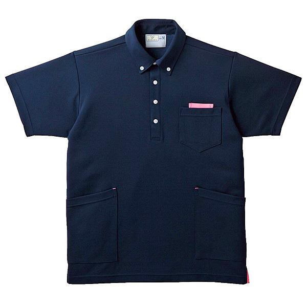 トンボ キラク ニットシャツ男女兼用 LL CR156-13-LL (取寄品)