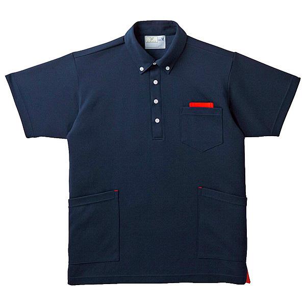 トンボ キラク ニットシャツ男女兼用 S CR156-15-S (取寄品)