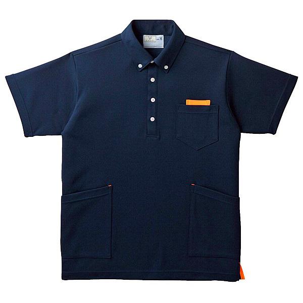 トンボ キラク ニットシャツ男女兼用 S CR156-59-S (取寄品)
