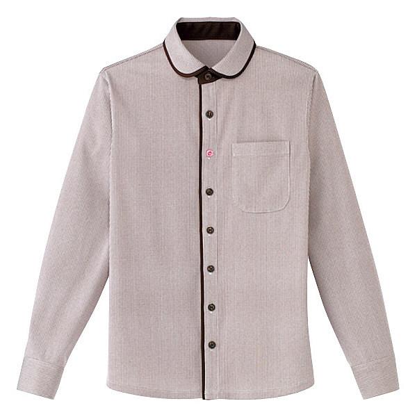 カーシーカシマ 長袖ニットシャツ(男女共用) LL HM-2658-3-LL (取寄品)