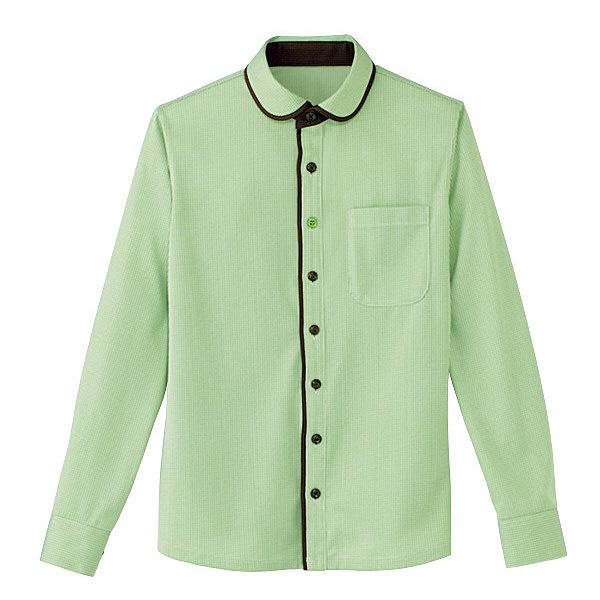 カーシーカシマ 長袖ニットシャツ(男女共用) LL HM-2658-4-LL (取寄品)