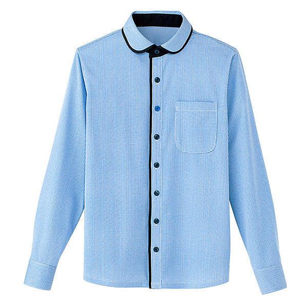 カーシーカシマ 長袖ニットシャツ(男女共用) LL HM-2658-6-LL (取寄品)
