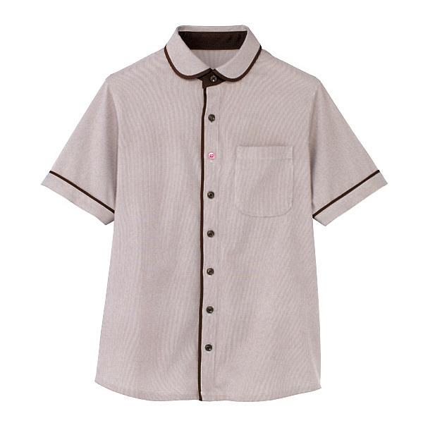カーシーカシマ 半袖ニットシャツ(男女共用) S HM-2659-3-S (取寄品)