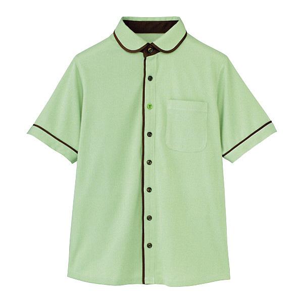 カーシーカシマ 半袖ニットシャツ(男女共用) LL HM-2659-4-LL (取寄品)