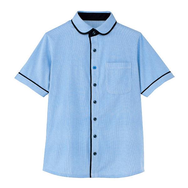 カーシーカシマ 半袖ニットシャツ(男女共用) 3L HM-2659-6-3L (取寄品)