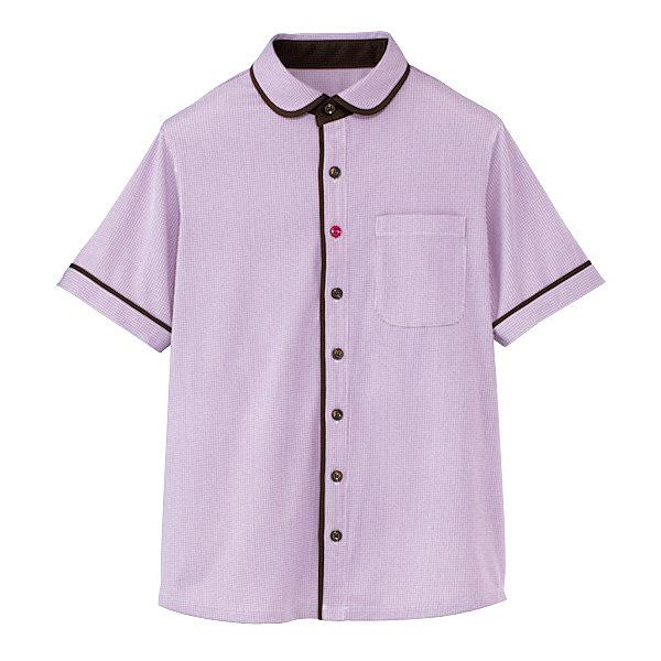 カーシーカシマ 半袖ニットシャツ(男女共用) 4L HM-2659-7-4L (取寄品)