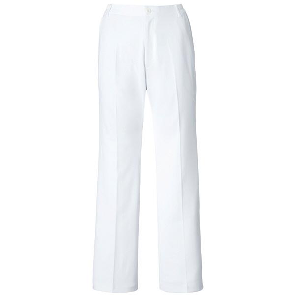 ミズノ ユナイト パンツ(女性用) ホワイト LL MZ0014 医療白衣 ナースパンツ 1枚 (取寄品)
