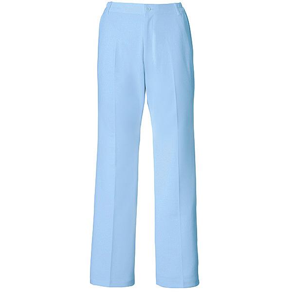 ミズノ ユナイト パンツ(女性用) サックス 4L MZ0014 医療白衣 ナースパンツ 1枚 (取寄品)