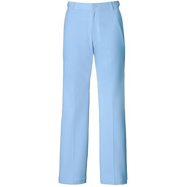 ミズノ ユナイト パンツ(女性用) サックス S MZ0015 医療白衣 ナースパンツ 1枚 (取寄品)