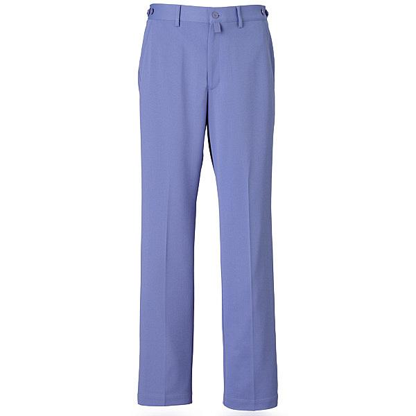ミズノ ユナイト パンツ(男性用) ブルー LL MZ0017 医療白衣 メンズパンツ 1枚 (取寄品)