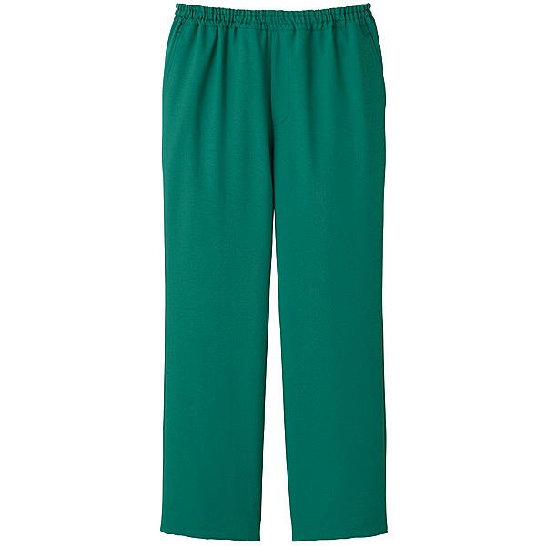 ミズノ ユナイト スクラブパンツ(男女兼用) グリーン 5L MZ0019 医療白衣 1枚 (取寄品)