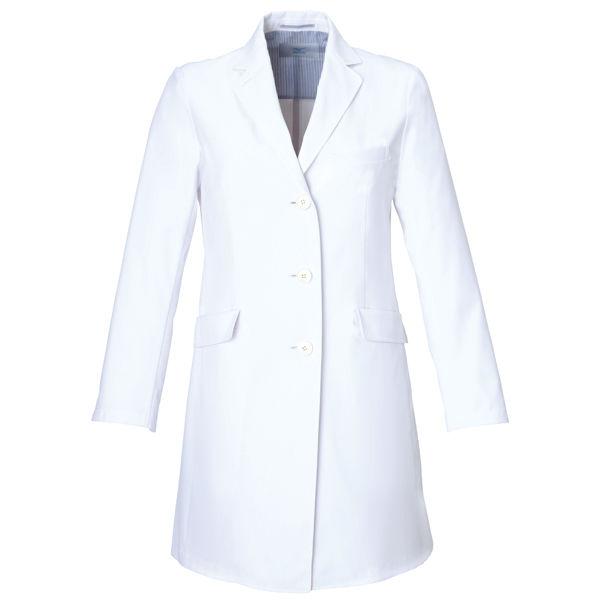 ミズノ ユナイト ドクターコート(女性用) ホワイト M MZ0023 医療白衣 診察衣 薬局衣 1枚 (取寄品)